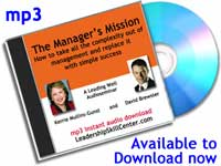 manager's mission